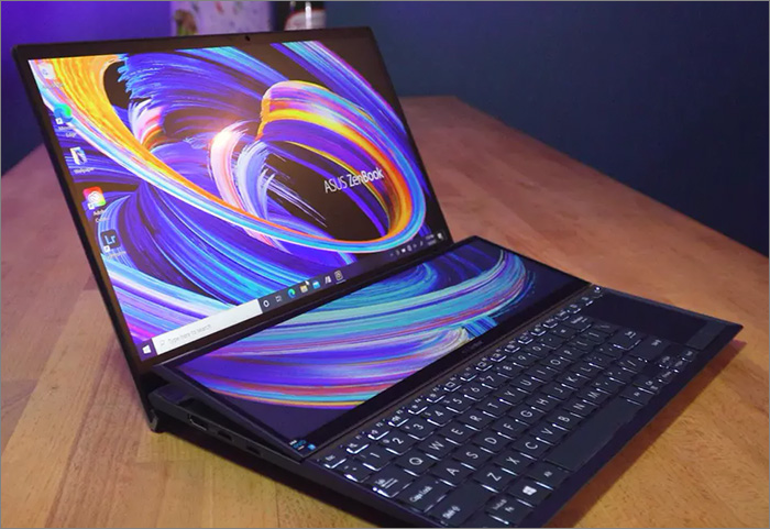 Test du PC Portable Asus Zenbook Duo 14